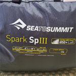 【キャンプ用品レビュー】シートゥサミット(SEA TO SUMMIT) 寝袋スパークSP3ダウンシュラフ